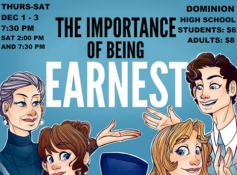 The Importance of Being Earnest Comes to Dominion