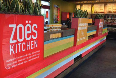 Restuarant Review: Zoe's Kitchen