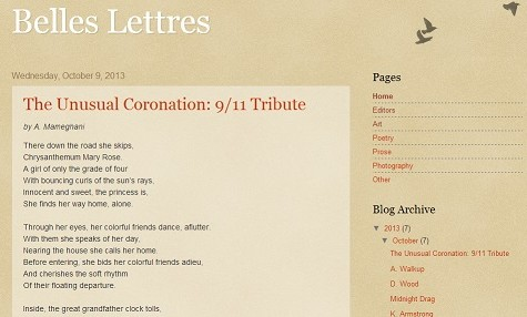 Lit Mag Moves To Blogspot