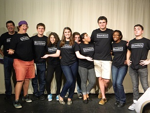 Many of last year's performers have moved on creating a new cast of characters for the improv troupe.