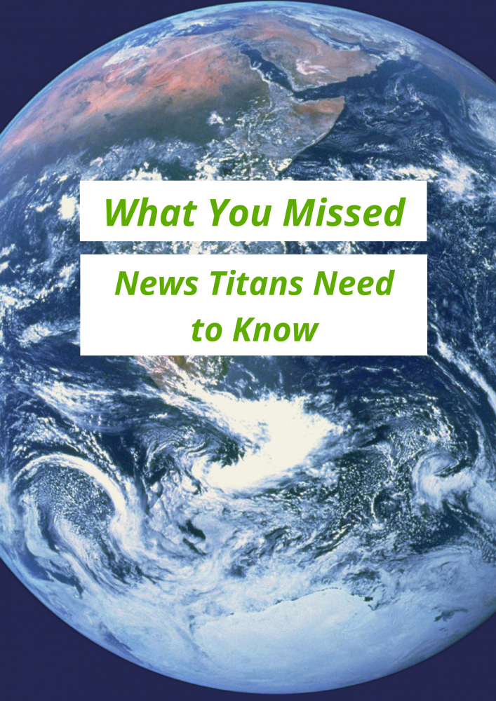 A look back at the week that was in the news and highlighting what students need to know