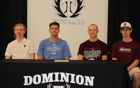 Spring Athletes Sign for College