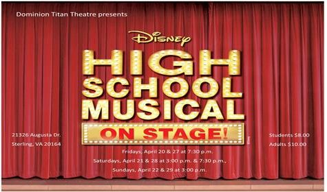 High School Musical Hits the Right Notes