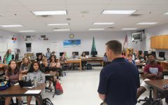 JP Finlay Visits Journalism Classes at Dominion