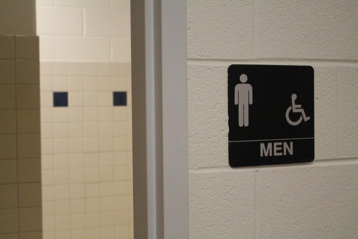 Students often go into the bathrooms during the day to vape.