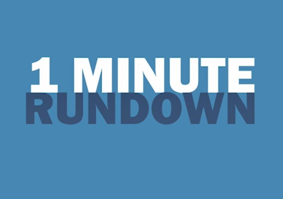1 Minute Rundown: November 12th-16th