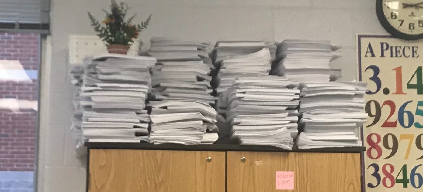 Teachers Struggle to Decrease Copies