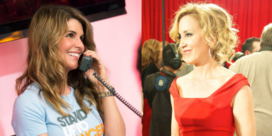Lori Loughlin and Felicity Huffman are both involved with the scandal.
