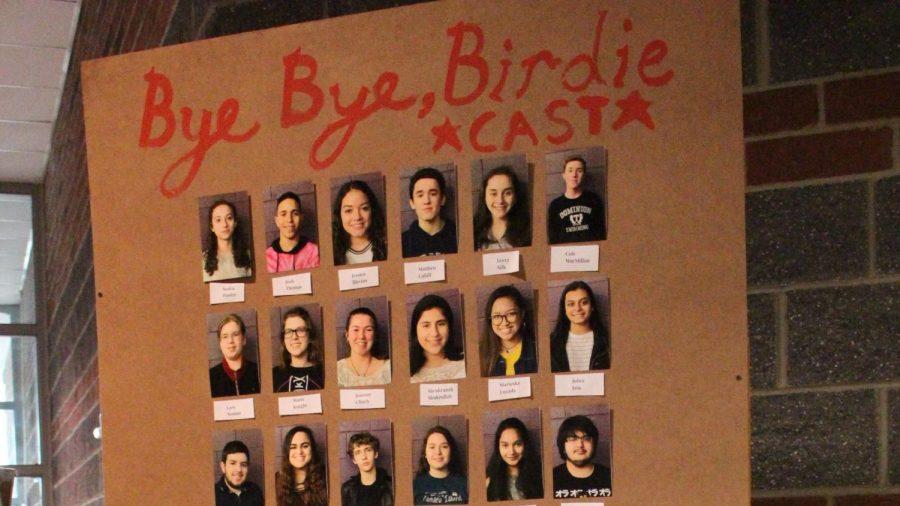 Bye Bye Birdie opening night is Friday, April 26.
