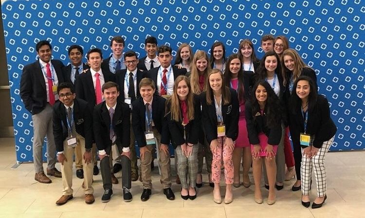 Dominion DECA students attend ICDC.