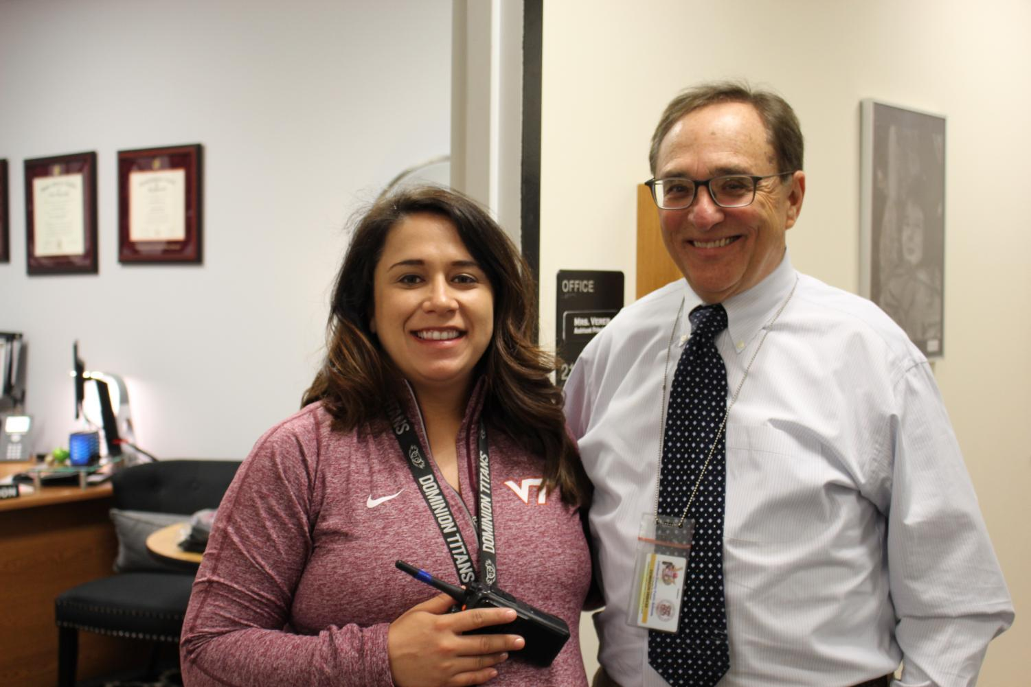 Jim Person returns to be the long-term sub for Mrs. Vereb while she will be on maternity leave.