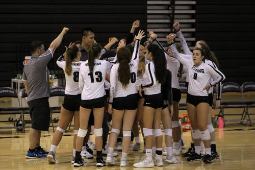 Watch volleyball try to continue their early season winning ways.