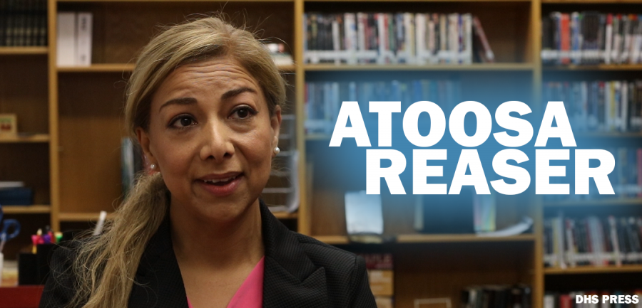 Newly elected School Board Representative Atoosa Reaser sits down for a one-on-one interview.