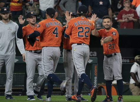 The Houston Astros have been accused of stealing signs during the 2017 season.