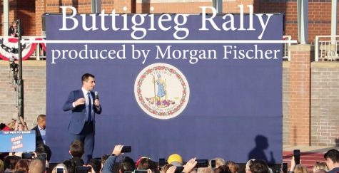 Morgan Fischer traveled to Arlington on February 23 to report on the Pete Buttigieg rally.