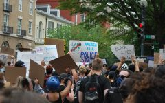 Signs carried by protesters on June 2nd included quotes from various religious texts, famous civil rights leaders, and the American Declaration of Independence