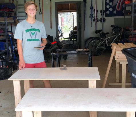 Just a junior in high school, Colby Samide is making a difference that will be felt nationwide as people from across the country reach out to him to start making desks in their area for students in need.