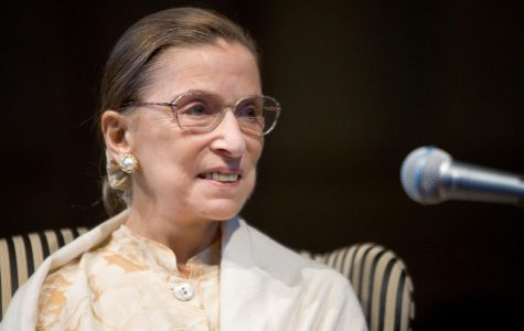 Named to the Supreme Court in 1993, Justice Ruth Bader Ginsburg was only the 2nd woman at the time to be a Supreme Court Justice. Photo Credit: https://www.flickr.com/photos/38420014@N03/10843463784