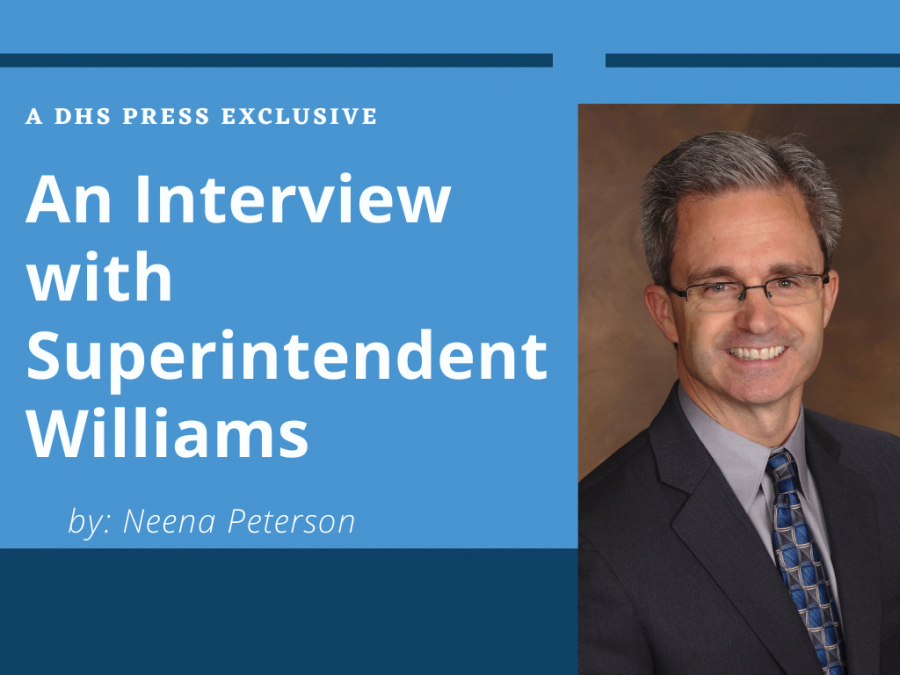 As students await the next decision that impacts distance learning, Superintendent Williams answers questions that directly impact Dominion students.