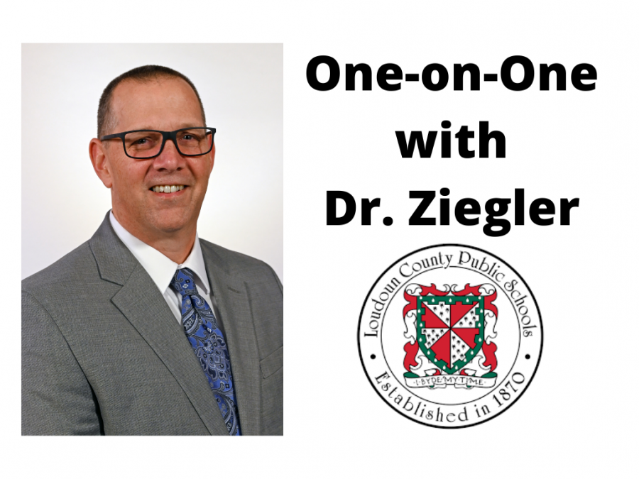 Acting Superintendent Dr. Ziegler took over the position on January 6.