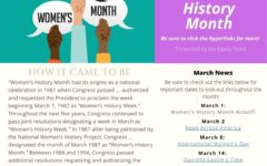 The March Equity newsletter highlights Women's History Month and is a part of ongoing efforts to improve equity within Dominion.