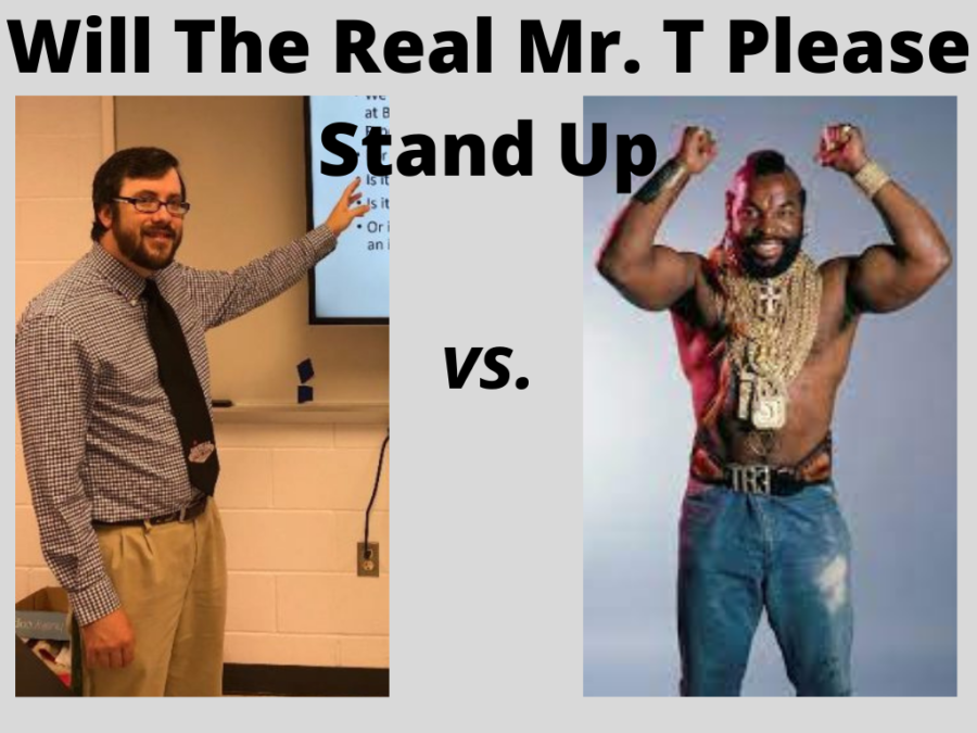 With big shoes to fill, Dominions Mr. T sets the bar even higher for the actor Mr. T.