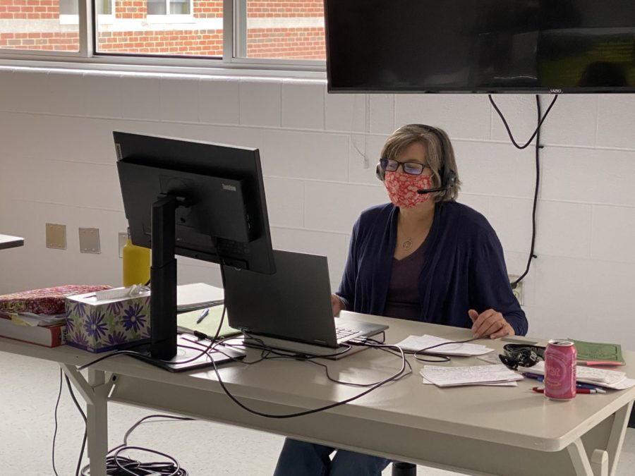 Mrs. Marnell hasn't let distance learning stop her from having a big impact on her students.