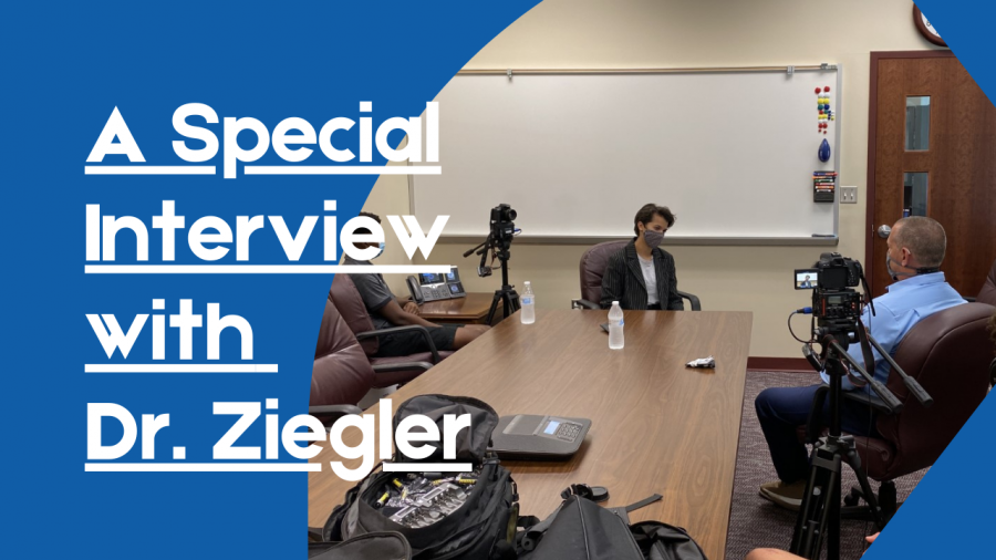 Neena Peterson sat down with Superintendent Ziegler on August 25th.