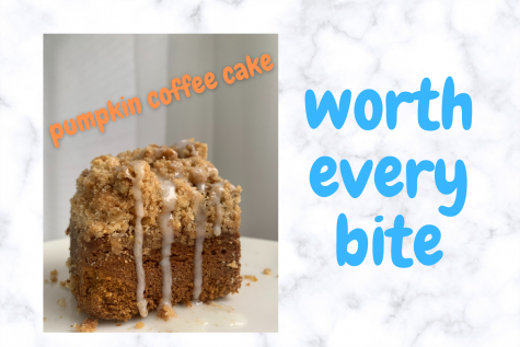 Baking is a passion for Cynthia and she loves this pumpkin coffee cake recipe.